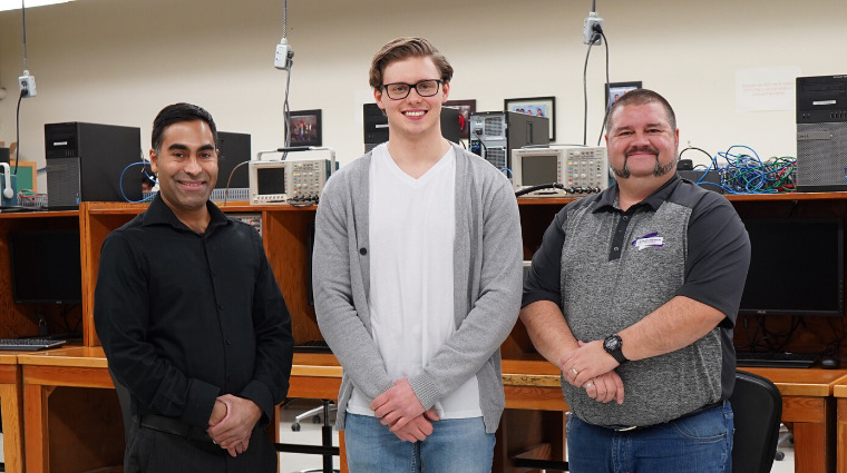 Sask Polytech alumnus awarded honourable mention in national technology competition